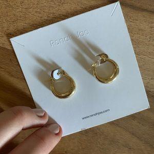 Free with bundle! Gold Hoop Earrings